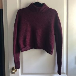 American eagle turtle neck knit sweater